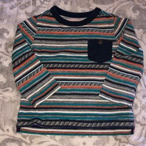 Crazy 8 Tribe Colored Long Sleeve Tee 6-12 Months
